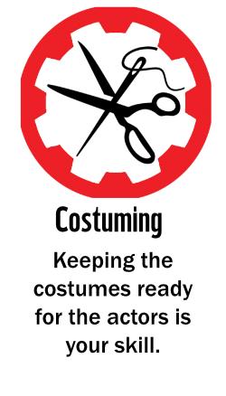 Winning badges 2021 - Costuming